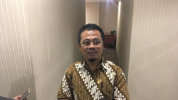Wakil Ketua Badan Kehormatan Oman Rohman Rakinda (Arief Ikhsanudin/detikcom)