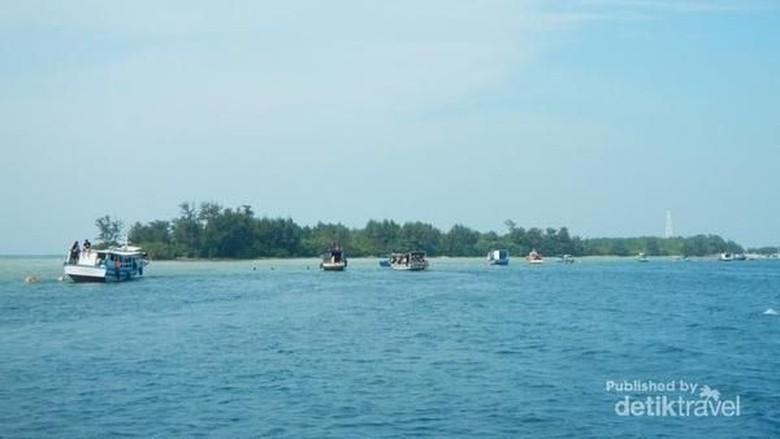 5 Daya Tarik Pulau Payung di Kepulauan Seribu /Foto: Muhammad Catur Nugraha/dtravelers
