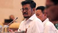 Rapat kerja tersebut digelar di Gedung Nusantara II, Kompleks Parlemen, Jakarta, Selasa (5/11/2019).