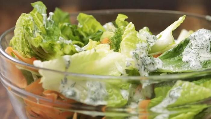 Salad Ayam Goreng