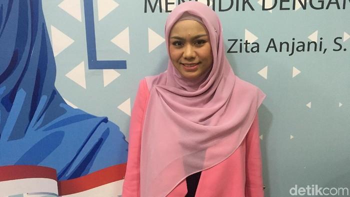 Wakil Ketua DPRD DKI Zita Anjani (Arief Ikhsanudin/detikcom)