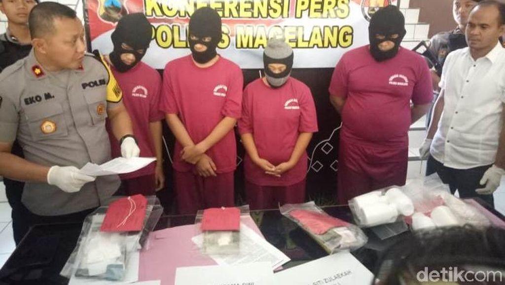 Polisi Bekuk Pengedar Obat Keras, Barang Bukti 11 Ribu Pil Yarindo