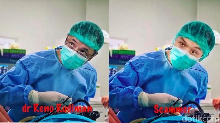 Foto dokter yang dicomot untuk scammer. Foto ditampilkan atas izin yang bersangkutan. (Foto: detikHealth)