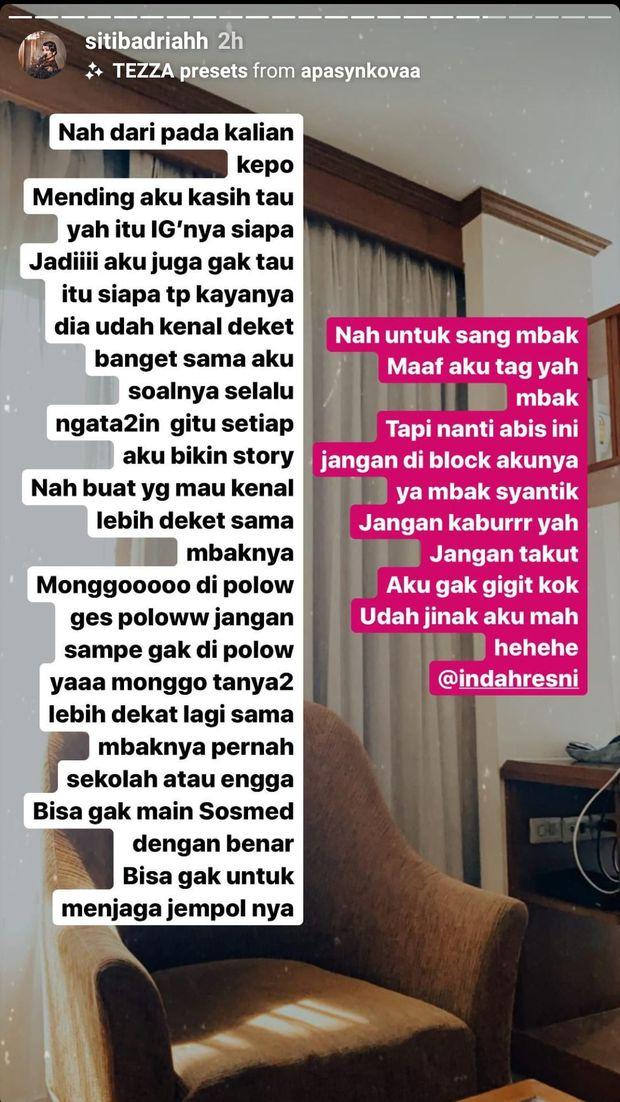 Siti Badriah Dibuat Kesal oleh Satu Netizen, Kenapa Sih?