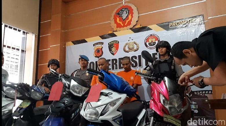 Maling Motor dan Penjual Kunci T Disergap Polisi Tasikmalaya
