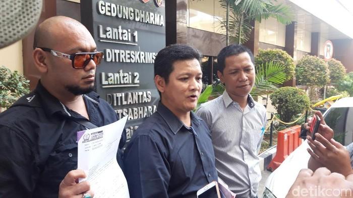 Yuyun Pramesti (tengah), kuasa hukum pelapor (Hilda Meilisa Rinanda/detikcom)