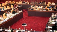 Rapat kerja yang digelar bersama Komisi IV DPR itu membahas mengenai program kerja Kementan 5 tahun ke depan.