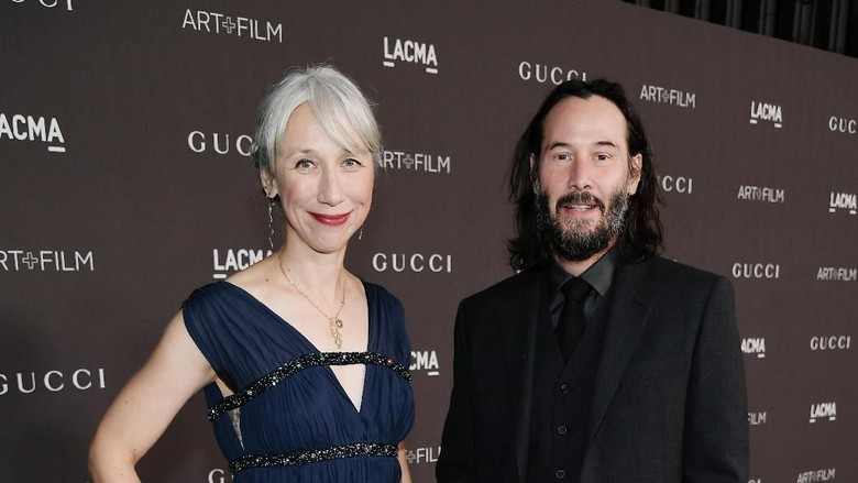Alexandra dan Keanu Reeves Foto: Getty Images