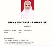 Anggota DPR Mulan Jameela Disorot Lagi