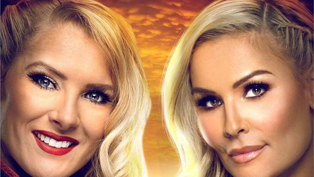 Pertamakali Pertandingan Gulat Wanita WWE Digelar di Arab Saudi