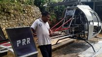 Ini Gardes JN 77, Helikopter Kreasi Tukang Bubut Asal Sukabumi