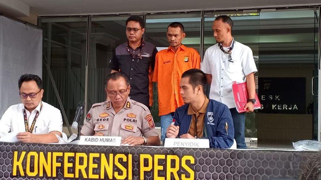 Todong Sopir Pakai Senjata Tajam, Pak Ogah di Jembatan Tiga Ditangkap