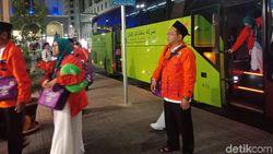 Jemaah Umrah Marbut dan Majelis Taklim DKI Tiba di Madinah