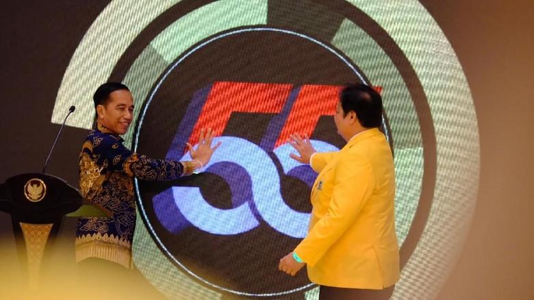 Soal Ketum Golkar, Pengamat Sebut Jokowi Cenderung ke Airlangga