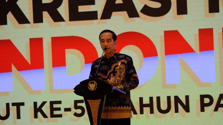Jokowi Cerita JK Rasa Tiap Hari Seperti Sabtu-Minggu Usai Tak Jadi Wapres