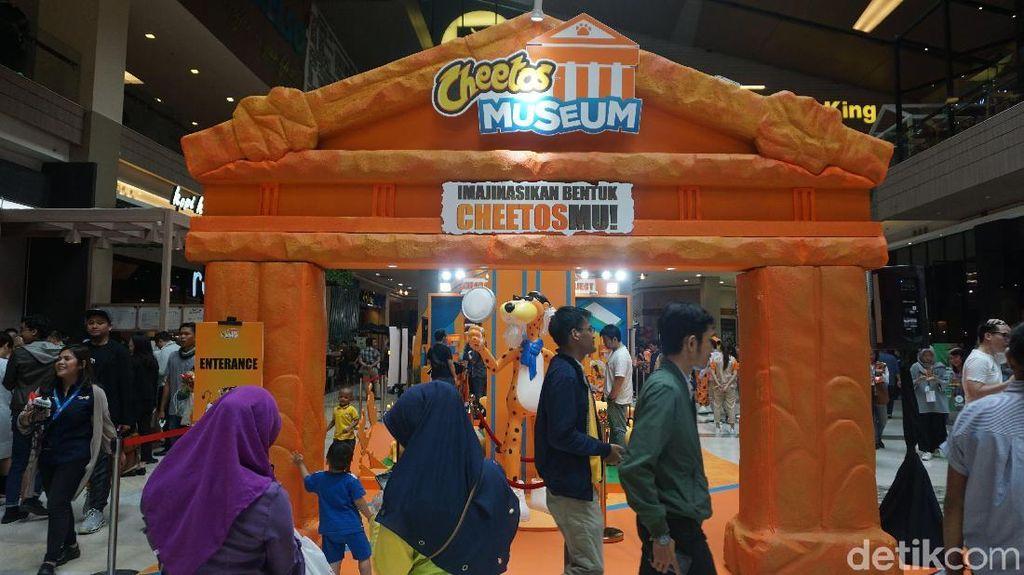 Indonesia Punya Cheetos Museum Berisi 40 Bentuk Cheetos Unik
