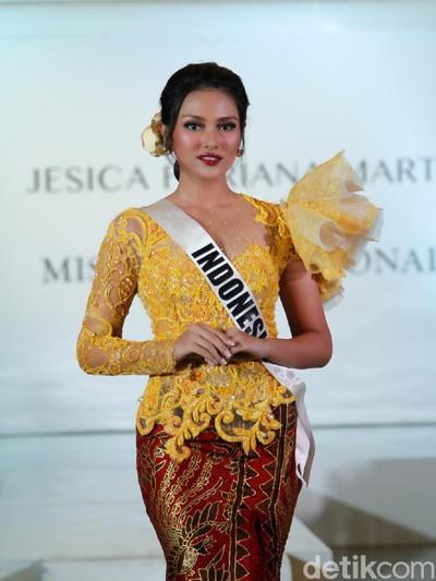 Putri Indonesia Pariwisata 2019 Jessica Fitriana. Foto: Mohammad Abduh/Wolipop