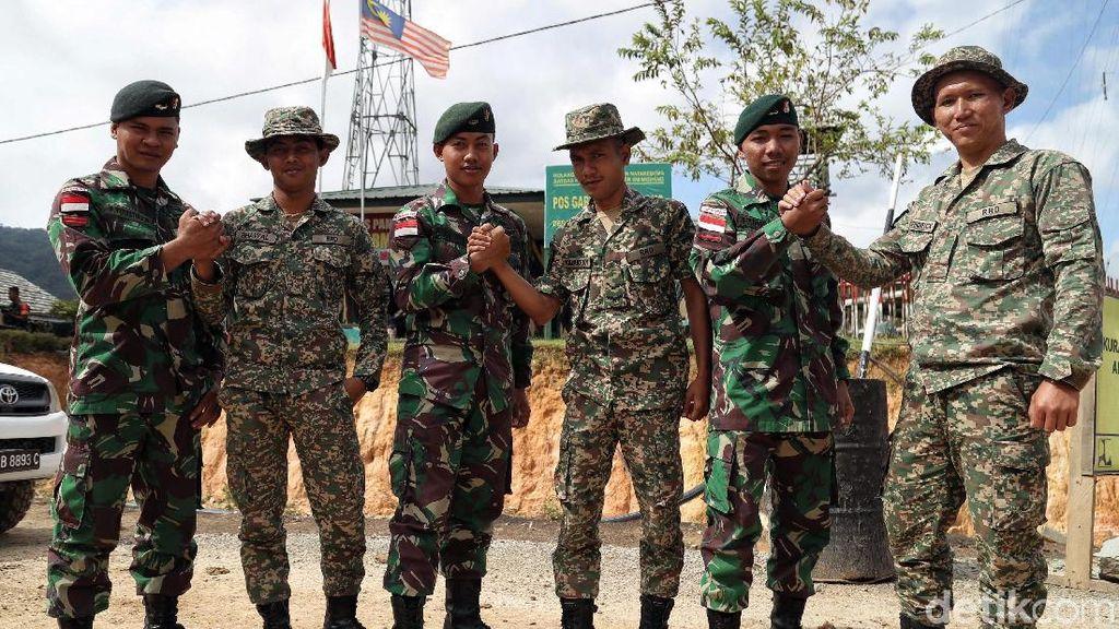 Akrabnya Para Penjaga Perbatasan Indonesia-Malaysia