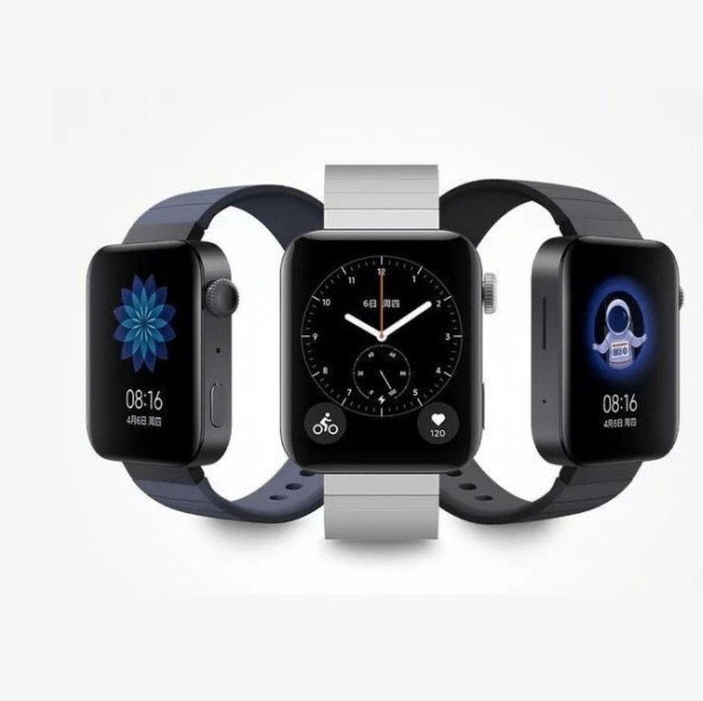 Xiaomi Rilis Jam Pintar Mirip Apple Watch