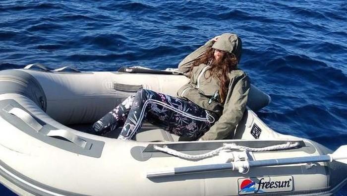 Foto Wanita Ini Ditemukan Berlayar di Laut Aegea: dok. Reuters