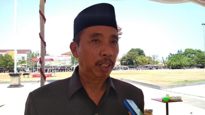 Bupati Rembang Abdul Hafidz, Rabu (6/11/2019).