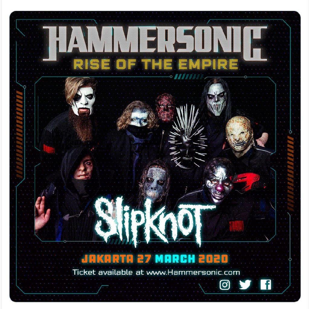 Datangkan Slipknot, Ini Besaran Budget Bikin Hammersonic