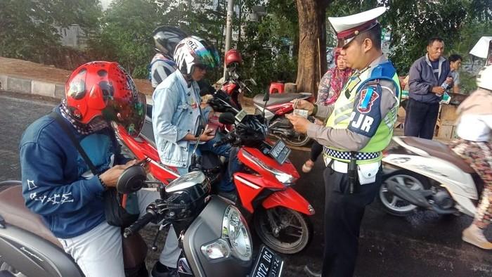 Selama 14 hari Operasi Zebra Kalimaya Banten 2019, sebanyak 20.701 pengendara ditindak (Dok. Istimewa)