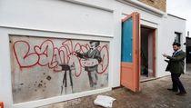 Mural Tersembunyi Banksy Dibuka Lagi, Harganya Capai Rp 17 M