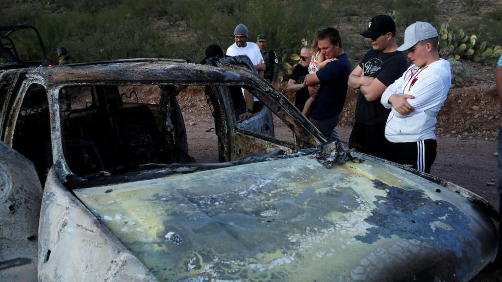 Meksiko Tangkap Dalang Utama Pembantaian Wanita dan Anak-anak Mormon
