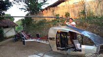 Spesifikasi Helikopter Rp 30 Juta Buatan Tukang Bubut Asal Sukabumi