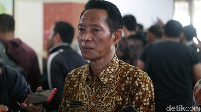 Kepala Badan Kepegawaian Daerah Jateng Wisnu Zaroh. (Angling Adhitya Purbaya/detikcom)