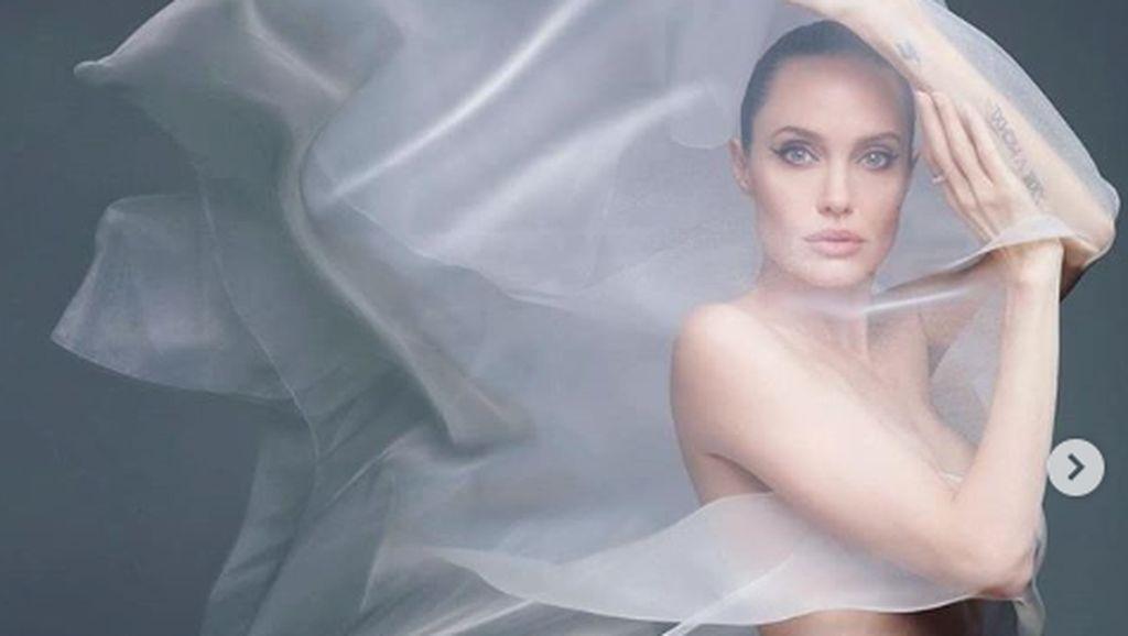 Angelina Jolie: Kadang Sakit Melihat Orang yang Kau Cintai Terluka