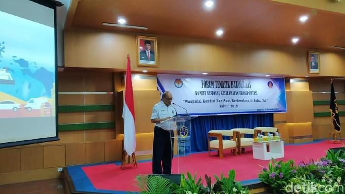 Foto: Ketua KNKT Soerjanto Tjahjono (Wilda Hayatun Nufus/detikcom)