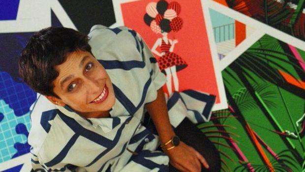 Ini Seniman Pop Art Malika Favre yang Karyanya Diplagiat Sunny Leone