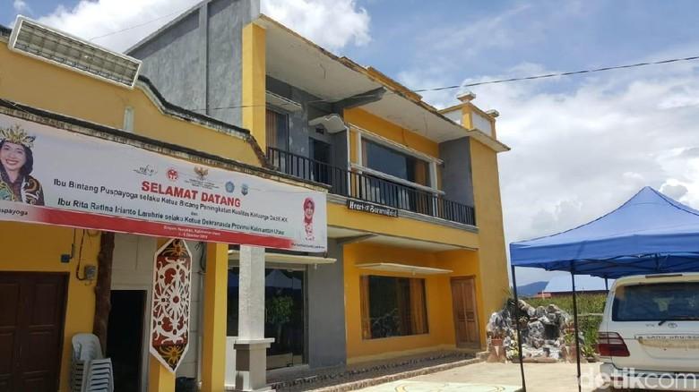 Hotel Borneo di Krayan (Syanti Mustika/detikcom)