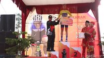 Carcueva Juarai Etape V Tour de Singkarak, Agung Shabana Finis Ketiga