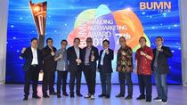 PGN Sabet Tiga Penghargaan di BUMN Branding & Marketing Award