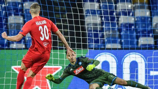 Erling Haaland tampil sensasional bersama Salzburg musim ini.