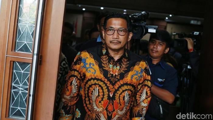 Terdakwa kasus suap-gratifikasi, Bowo Sidik Pangarso. (Ari Saputra/detikcom)