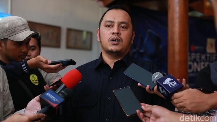 Ketua Bidang Pemenangan Pemilu Sumatra 2 Partai NasDem Willy Aditya (Foto: Ari Saputra-detikcom)