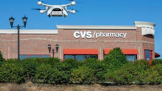 Di luar negeri, layanan pengiriman obat dengan drone sudah mulai diterapkan.