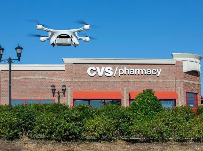 Foto: Drone- CVS Pharmacy/Reuters