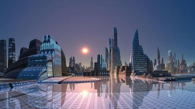 Rancangan Kota Neom di Arab Saudi