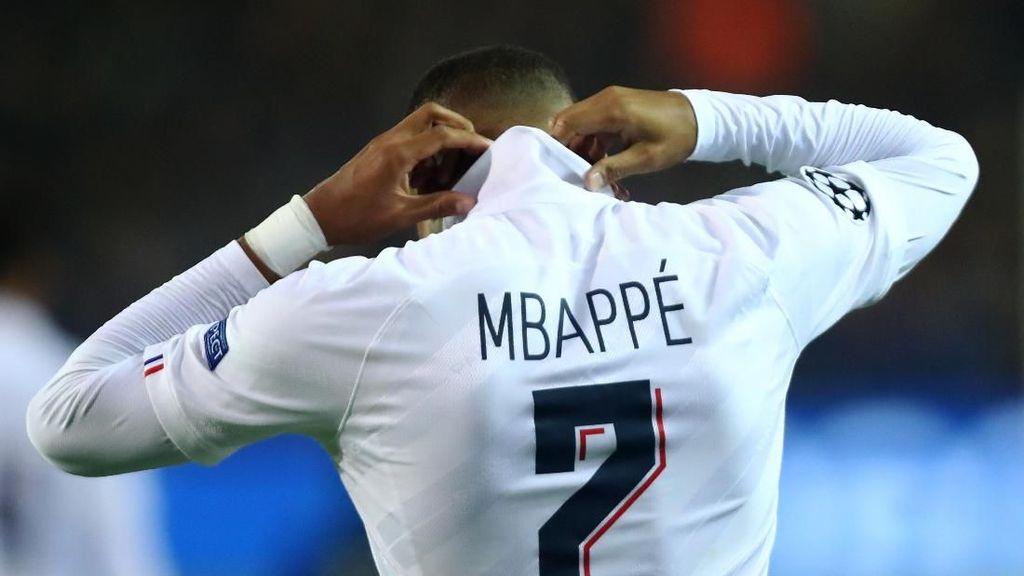Zidane Akui Jatuh Cinta dengan Mbappe