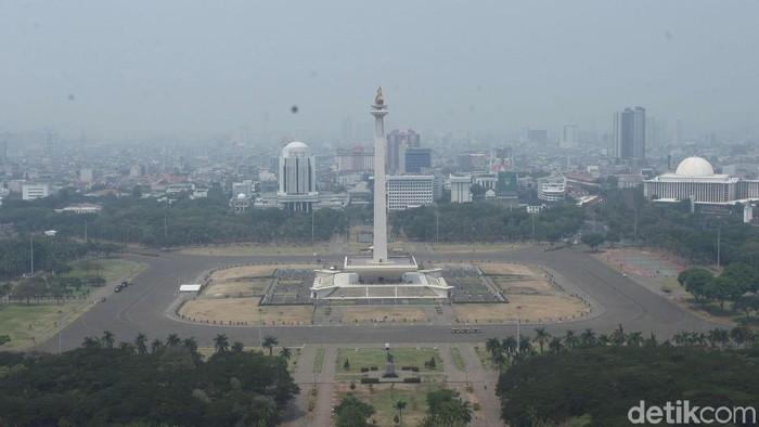 Kualitas udara di Jakarta hari ini terburuk kedua setelah India (Foto: Rifkianto Nugroho)