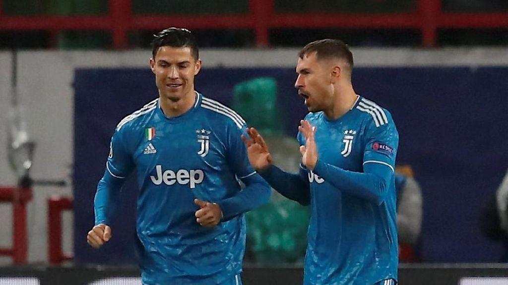 Ramsey Sudah Minta Maaf pada Ronaldo Usai Curi Golnya