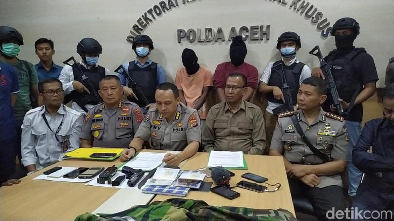 Pimpinan Kelompok yang Bikin Video Kemerdekaan Aceh Darussalam Ditangkap