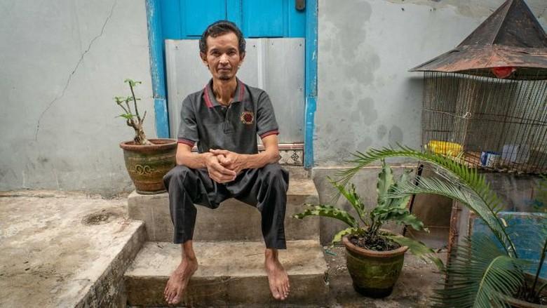 Saya Kesulitan Bernafas, Sriyono Positif Kanker Akibat Bahan Bangunan Asbes
