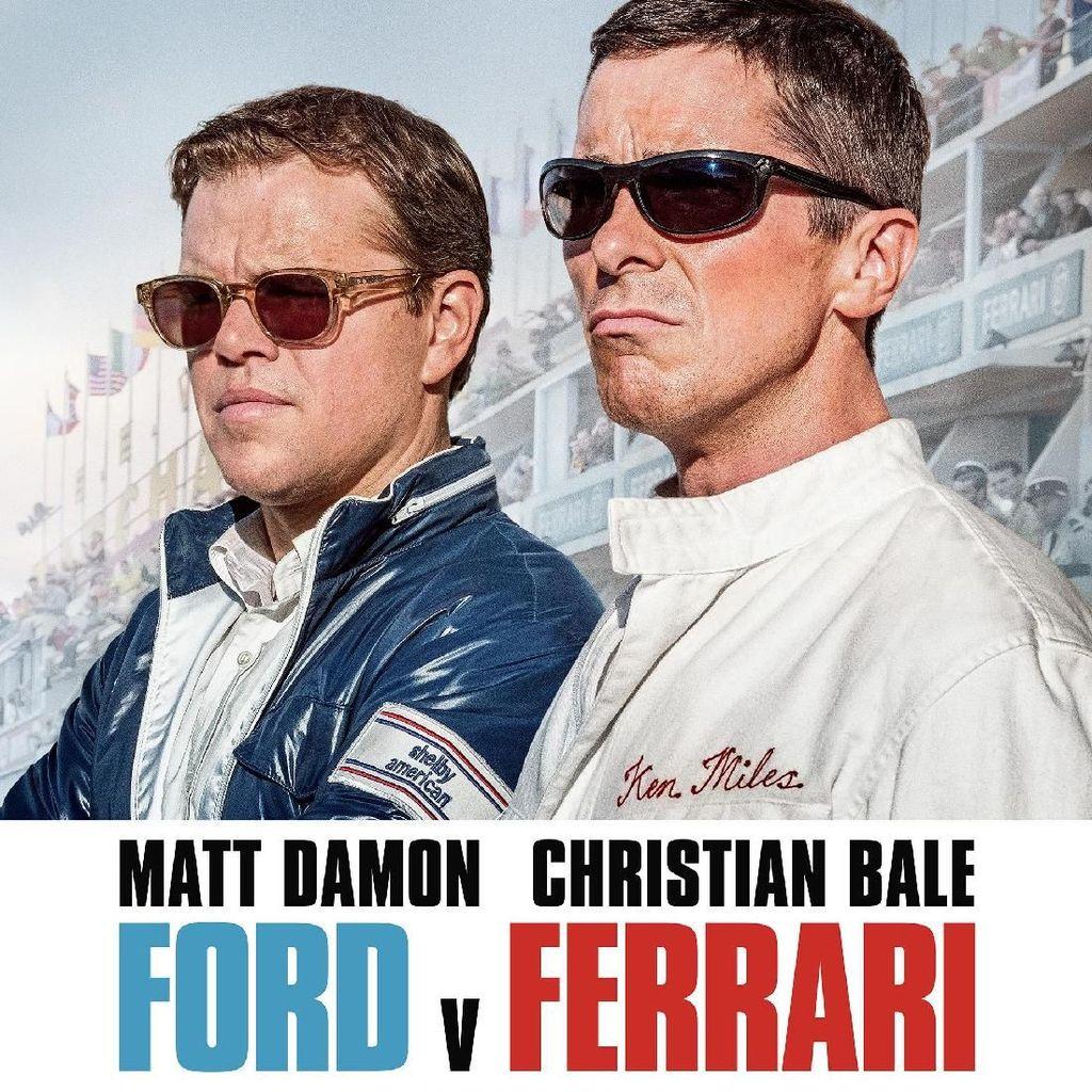 5 Fakta Film Ford v Ferrari Mulai yang Tayang Hari Ini