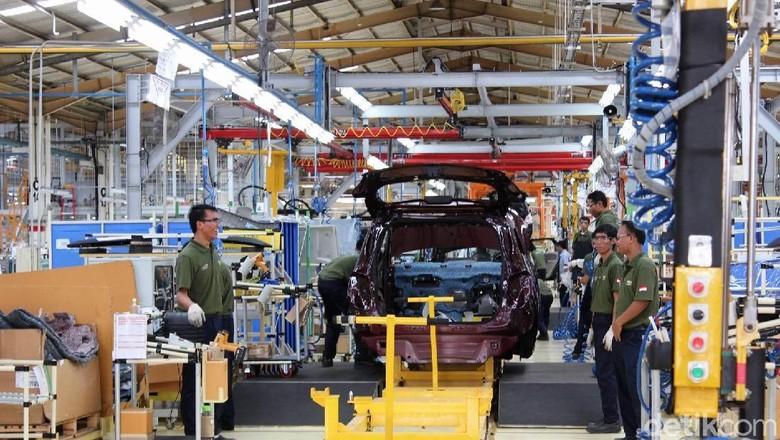 Pabrik perakitan mobil Chevrolet di Bekasi
